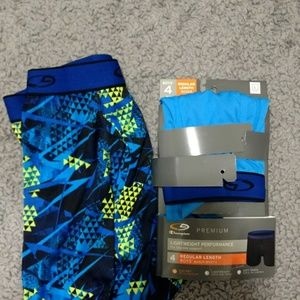 2 Pairs Boys Duo Dry Boxer Briefs C9 Large